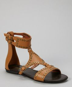Love this Whiskey Channing Studded Ankle-Strap Sandal by Mark & Maddux on #zulily! #zulilyfinds 18.99