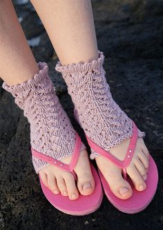 Yoga-Socken, Garnpaket zu Modell 25 aus Rebecca Nr. 61,gestrickt aus ggh-Garn SILKA, 100% organic Cotton/Silk)