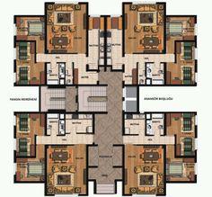 Tip 3 Zemin Kat Planı