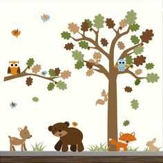 Forest decal set-WALL DECAL-Removable Wall Decal door Modernwalls