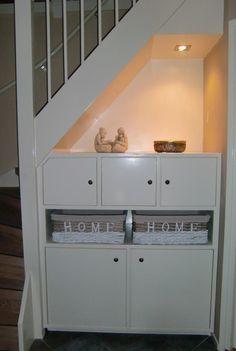 trapkast baby slaapkamer 1e verdieping