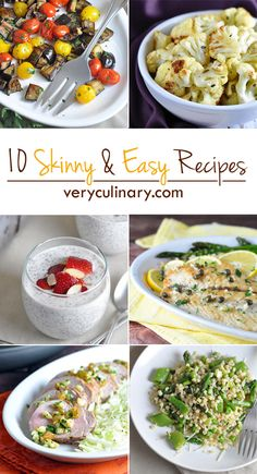 10 Skinny and Easy Recipes