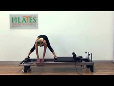 Advanced Classical Pilates Reformer Part I - YouTube