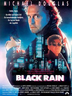 Directed by Ridley Scott. With Michael Douglas, Andy Garcia, Ken Takakura, Kate Capshaw. Two NYC cops arrest a Yakuza member and must escort him when he's extradited to Japan. Action Movie Poster, 80s Movie Posters, Classic Movie Posters, Cinema Posters, Classic Movies, Action Movies, Andy Garcia, Osaka, Image Film
