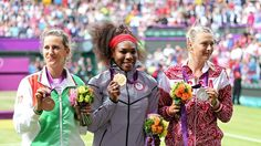 Victoria Azarenka, Serena Williams and Maria Sharapova