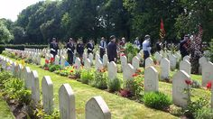 Roger Bryan Last Post Polish Aircrew Tribute at Newark Cemetery