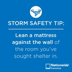 #Storm Safety Tip