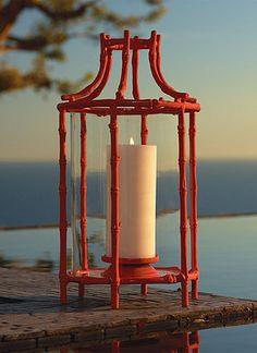 Tropical Bamboo Lantern.