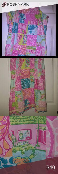Lilly Pulitzer dress Amazing vintage print dress in excellent condition Lilly Pulitzer Dresses Mini