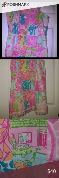 Lilly Pulitzer dress Amazing vintage print dress in excellent condition Lilly Pulitzer Dresses Mini