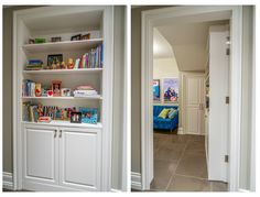 Hidden playroom by Johnson & Associates Interior Design