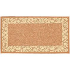 Safavieh Courtyard Floral Scroll Indoor Outdoor Rug, Multicolor