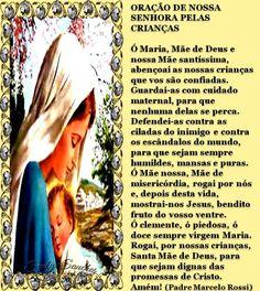 ORAÇÃO - NOSSA SENHORA PELAS CRIANÇAS