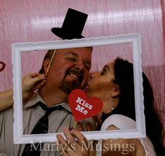 """wedding anniversary party ideas from Marty's Musings"""" -- may have to do our yearly ann. pic remaking our photobooth pic :P Mom Dad Anniversary, Wedding Anniversary Celebration, Marriage Anniversary, Anniversary Photos, Holidays And Events, Photo Booth, Booth Ideas, Party Ideas, Gift Ideas"""