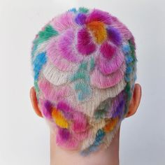 geometric buzz cuts and colorful hair tattoos inspired by 90s punk culture | read | i-D
