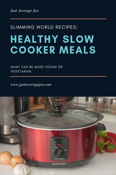 Looking for Slimming World slow cooker recipes? Here are the BEST Tasty Slimming World Slow cooker recipes for you to make for the family. Slow Cooker Desserts, Slow Cooker Recipes Family, Healthy Slow Cooker, Family Meals, Family Recipes, Crockpot Recipes, Cooking Recipes, Slow Cooker Slimming World, Slimming World Fakeaway
