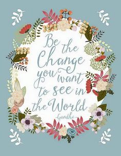 Plagát od Mia Charro - Be The Change Short Inspirational Quotes, Motivational Quotes, Words Quotes, Me Quotes, Sayings, Peace Quotes, Strong Quotes, Attitude Quotes, Wisdom Quotes