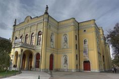Csokonai Theatre in Debrecen, Hungary Great Plains, Budapest, Architecture Art, Wonders Of The World, Europe, Island, Mansions, Country, Monuments