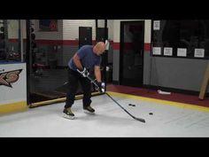 Hockey : Wrist Shot fundamentals - YouTube