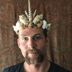 Merman Unicorn Crown by SaltyFeathersDesigns on Etsy