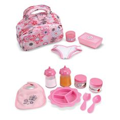 "Baby Doll Clothes At Walmart You & Me Baby Doll Care Accessories In Bag  Toys R Us  Toys ""r"" Us"