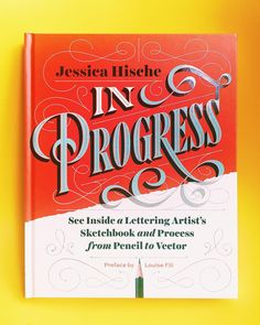 It came!  #InProgress by lettering genius @jessicahische Cannot wait to get stuck into this  Preface by @louisefili published by @chroniclebooks #jessicahische #lettering #typography #sketchbooks