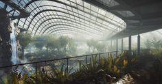 Botanic garden - Ronen Bekerman - 3D Architectural Visualization & Rendering Blog