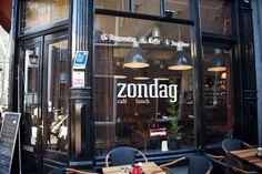 Delft, lunchroom Zondag, Voldersgracht 7