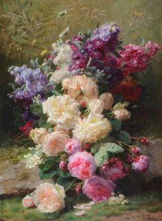 PAINTING: Jean-Baptiste Robie (1821-1910)
