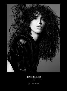 Balmain Paris Hair Couture presents the Spring/Summer 2016 Campaign starring Balmain muses Noémie Lenoir, Cindy Bruna and Devon Windsor.  Noémie Lenoir: The Comeback Of The Curls Who other than supermodel Noémie Lenoir is famous for her natural curls? Harlow reinvented her hairstyle using the Balmain Pre Styling Cream and Balmain Volume Mousse Strong. This is the comeback of the curls.