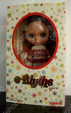 * WOW! MERRY SKIER BLYTHE SBL DOLL * NRFB * FREE SHIP * US SELLER *