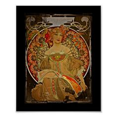 Champagne GIrl c1897 Poster