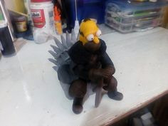 simpson Homero game of thones