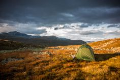 Golden hour camp (Rondane National Park, Norway), by geoff_l via 500px