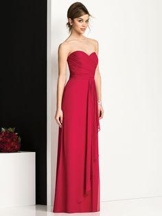 59a0acf9f67 Hunter green Dessy strapless bridesmaids dress Wedding Styles