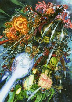 Ultimate Marvel vs. Capcom 3 by Yuusuke Murata *