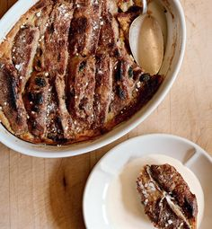 Hot Cross Bun Bread and Butter Pudding - The Happy Foodie