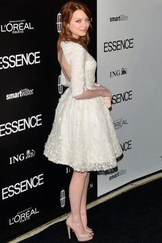 Emma Stone in a Elie Saab Couture Spring 2012