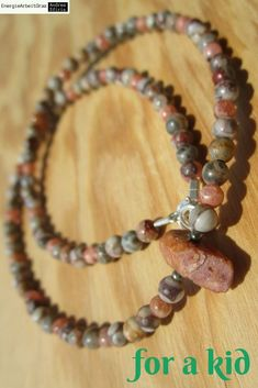 for a kid: Ruby Cowrie Agate Rhodochrosite Necklace *fürsKind* RUBIN COWRIE ACHAT (Fossiljaspis) RHODOCHROSIT KETTE * Beaded Bracelets, Necklaces, Children, Ebay, Jewelry, Boys, Jewlery, Jewels, Kids