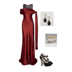 Outfit for our Black Tie Event fashion challenge