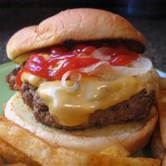 Stevige hamburger @ allrecipes.nl