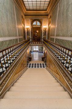 L'escalier Louis-Philippe. Versailles.