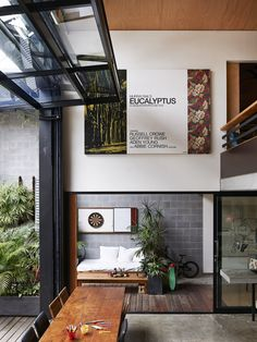 What Happens When Two Artists Make a Raw Warehouse Home