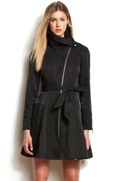 Drama Collar Trench Coat | Cassa Clara