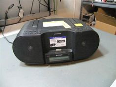 Sony ZS-S3IP Portable Audio Ipod Docking System Iphone 4 Ipod #Sony