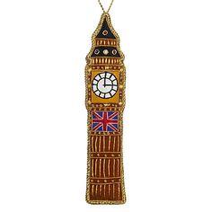 Buy Tinker Tailor Tourism Big Ben Hanging Decoration Online at johnlewis.com