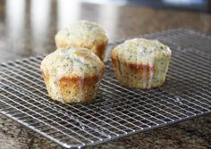 Almond Poppy Seed Muffins - Diana Rattray
