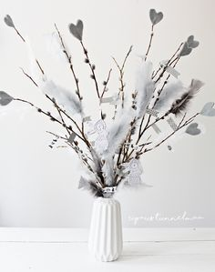Grey and beige Easter party Grey And Beige, Easter Party, Wreaths, Spring, Flowers, Fun, Crafts, Inspiration, Diys