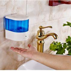600ml Automatic Soap Dispenser Pump Sensor Touchless Soap Dispenser for Public Toilet Bar Office Room Auto Liquid Dispenser - ICON2 Luxury Designer Fixures  600ml #Automatic #Soap #Dispenser #Pump #Sensor #Touchless #Soap #Dispenser #for #Public #Toilet #Bar #Office #Room #Auto #Liquid #Dispenser