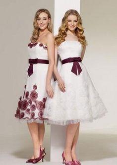 Стиляжное свадебное платье